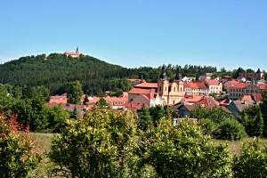 Město Nepomuk rodiště sv. Jana
