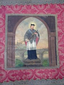 Svatý Jan Nepomucký - na praporu